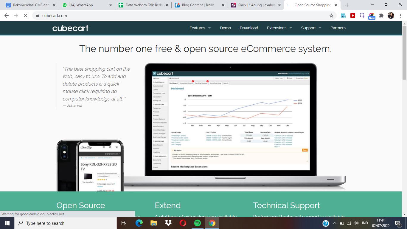 10 Rekomendasi CMS dan Web Builder untuk E-Commerce Terlengkap - 2021