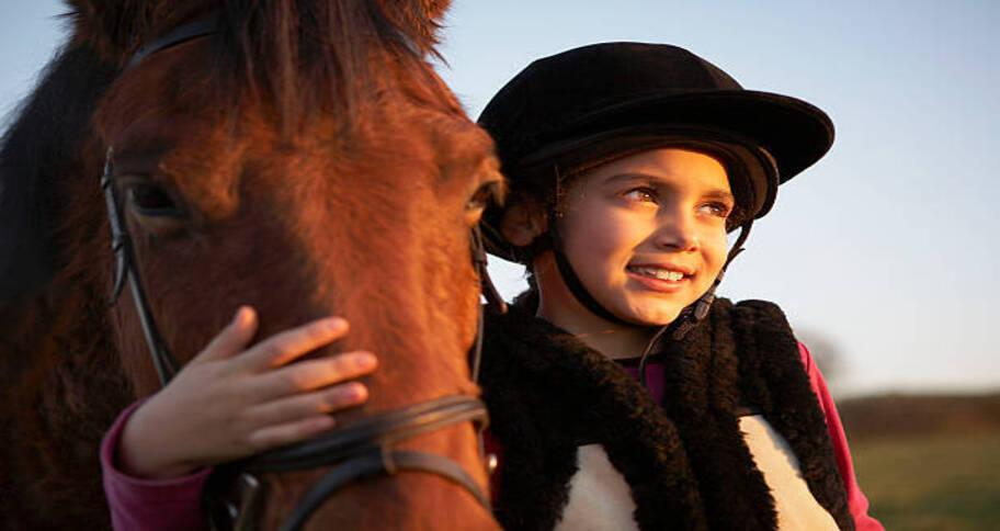 Horse riding is another extracurricular activities for kids