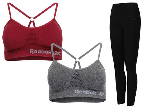 Reebok Women's Bralette & Leggings Bundle Just $14.98 (Regularly $60)