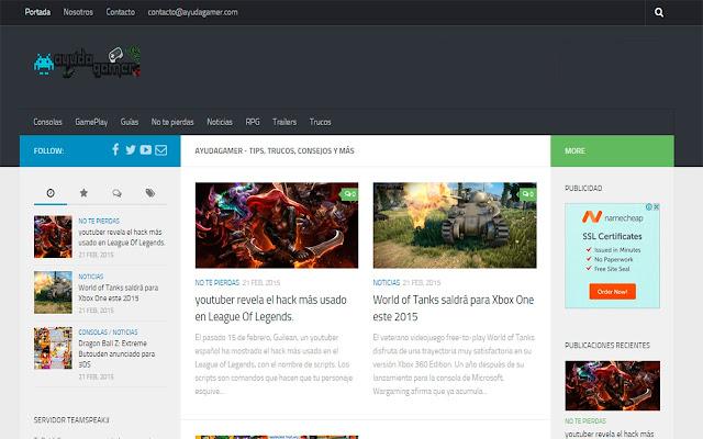 AyudaGamer.Com Noticias