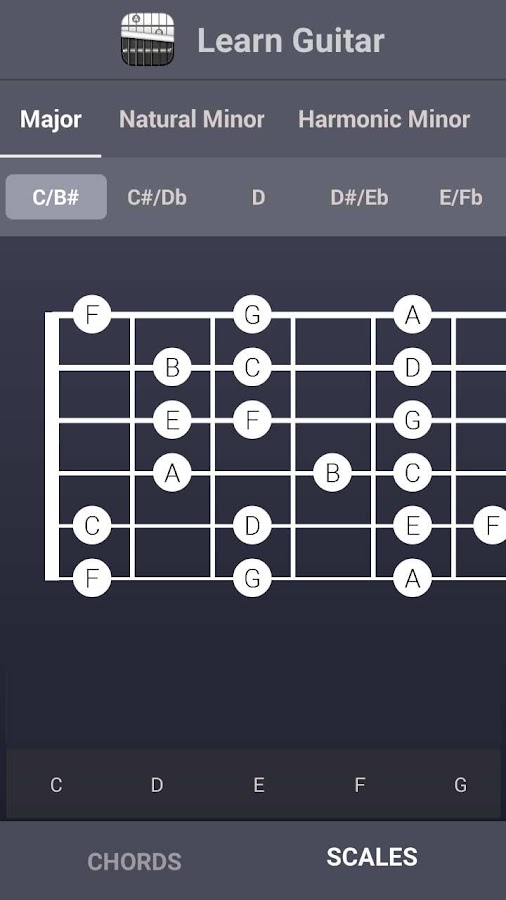 Learn Guitar Chords & Scales - Android Apps on Google Play