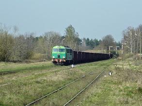 Photo: Sulików: SU46-024 z bruttem przejeżdża przez stację w kierunku podg Wilka