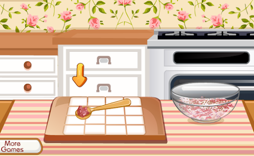 cookies cooking girls game - náhled