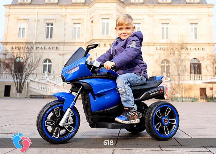 Xe mô tô điện cho bé điều khiển tay ga LT-618 1