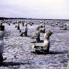 Lapindo Mud Tragedy by Diaz Fachry - Buildings & Architecture Statues & Monuments ( statue, art )