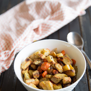 Roasted Sweet Potatoes, Apples and Carrots Recipe