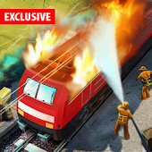Burning Train Simulator Games Android APK Download Free By ALP GAMES