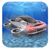 Floating Underwater Car Sim