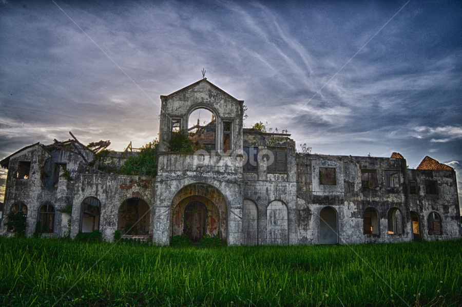 Old Castle by Shafik Shakirull - Buildings & Architecture Places of Worship