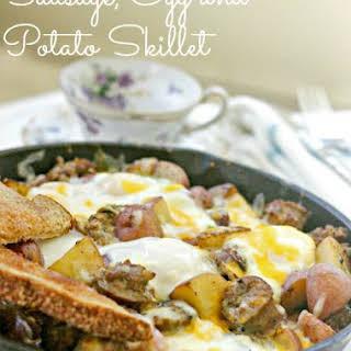 Sausage, Egg and Potato Skillet.