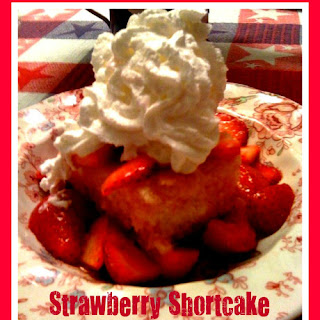 Old Fashioned Strawberry Shortcake!