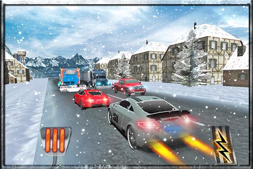 極端的交通賽車3D