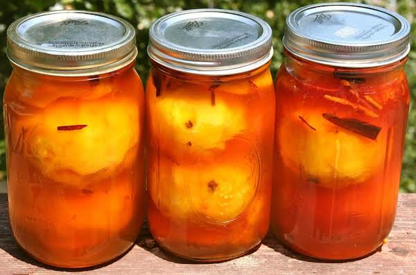 Mother's Pickled Peaches (sallye) Recipe