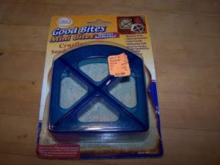 Good Bites Mini Bites Sandwich Cutter