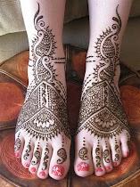 Foot/Feet Mehndi Designs - screenshot thumbnail 02