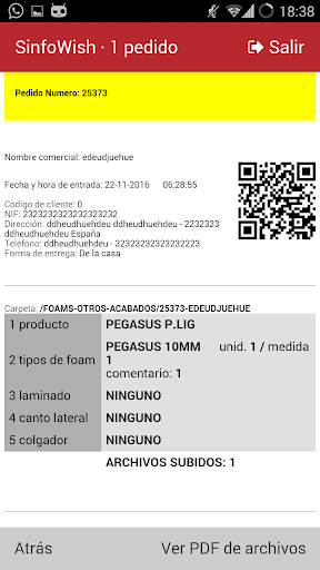 SinfoWish · PedidosGO! screenshot 3