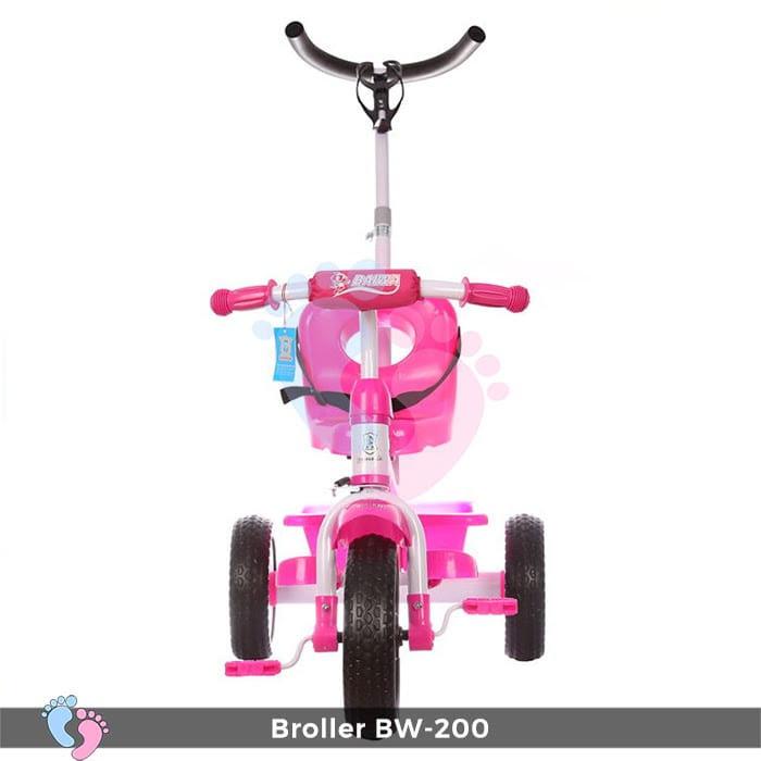 Xe đạp 3 bánh Broller XD3-200 có cây đẩy 2