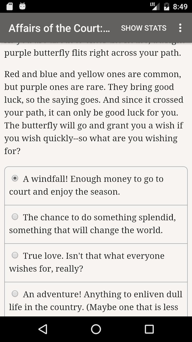Affairs of the Court: Choice of Romance Screenshot 1