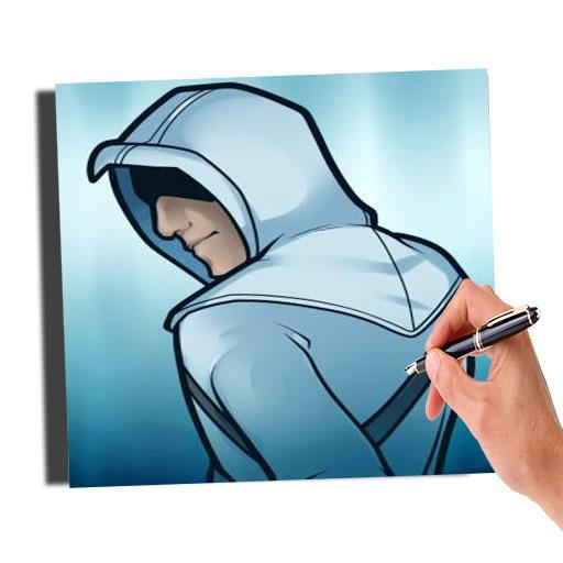 How To Draw Assassins Creed Easy Apk Download Apkpure Ai
