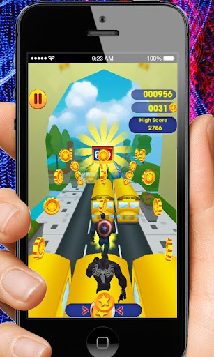 Captain Hero Subway Run Rush 2.0 screenshots 3