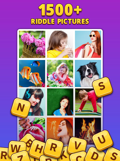 4 Pics 1 Word Pro - Pic to Word, Word Puzzle Game  screenshots 10