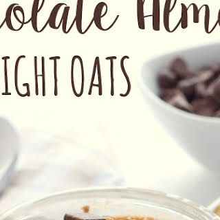 Chocolate Almond Overnight Oats.