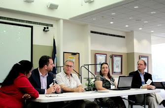 Photo: Ari Novy, USBG, said disciplines need to work together to achieve food security.