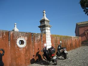 Photo: Walls of castle - inside