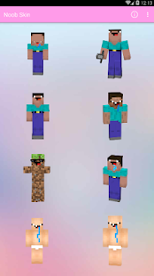 Skin Noob For MCPE - náhled