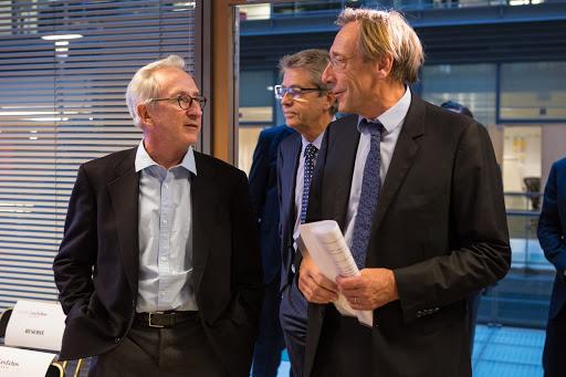 Club Les Echos Débats avec Franck Riboud, Président Directeur Général de Danone