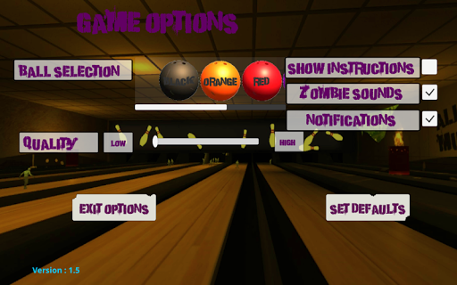 10 Zombie Bowling screenshots 4
