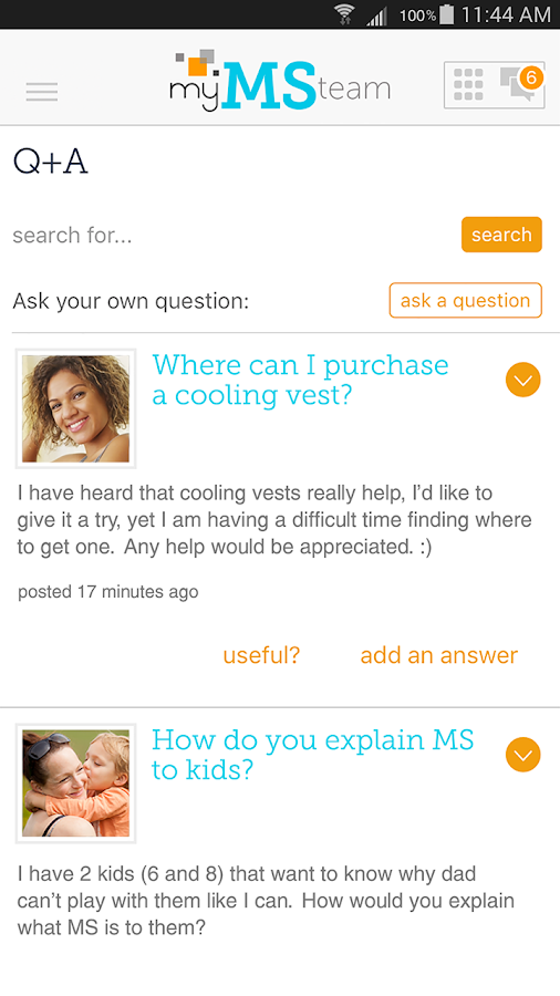 Multiple Sclerosis Support- screenshot