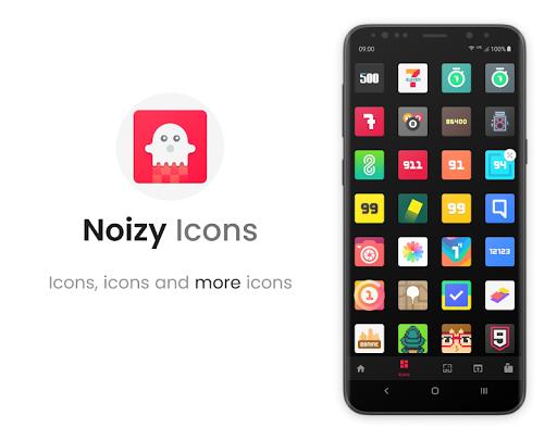 Noizy - Icon Pack screenshot 3