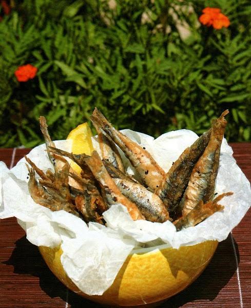 Greek Fried Fish Appetizer Recipe