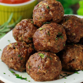 Oven Cooked Meatballs