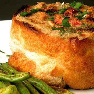 Bread Bowl Au Gratin
