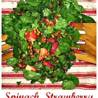 Spinach Strawberry Pine Nut Salad Recipes