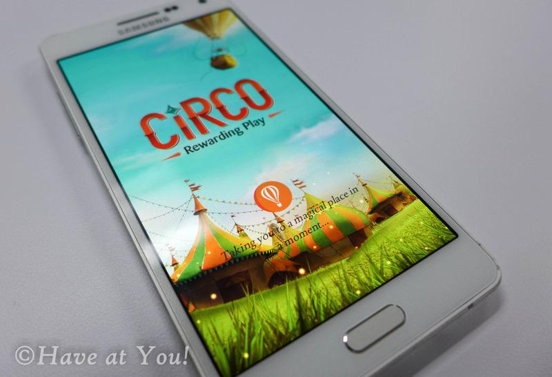 Circo main page