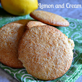 Lemon and Cream Cookies #CreativeCookieExchange