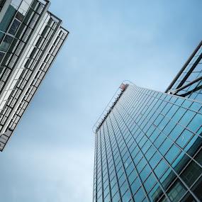 by Jan Stupka - Buildings & Architecture Office Buildings & Hotels ( sky, czech republic, glass, buildings, windows, praha, prague )