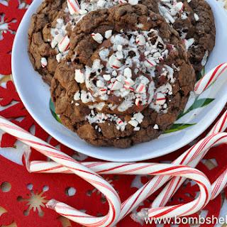 Candy Cane Joe-Joe's Stuffed Cookies