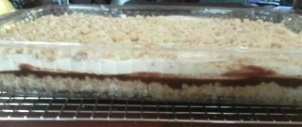 Bake 35-40 minutes or until cream cheese layer is set. Cool completely before cutting...