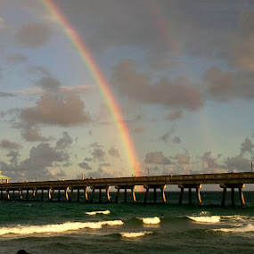 Rainbow Deerfield Beach Pier Jose Luis Defilippi Angeldonis S Profile Hollywood Fl Us Pixoto