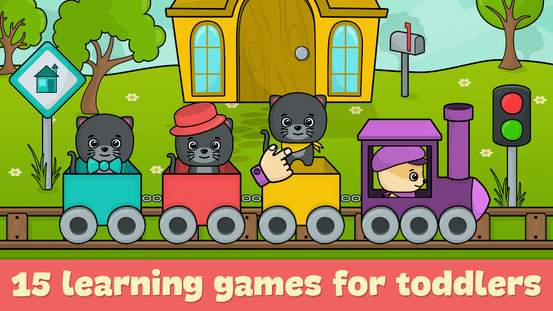 Toddler games for 2-5 year olds Android App Screenshot