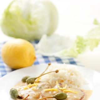 Kaiserschnitzerl mit Kapern und Zitrone