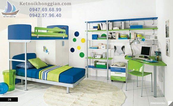 thiết kế phòng ngủ cho bé đẳng cấp