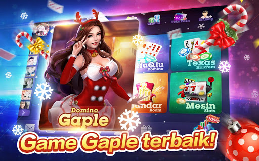 Domino Gaple Free:Pulsa:Online 2.0.0.0 screenshots 1