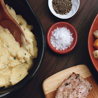 Crème Fraîche and Chive Mashed Potatoes
