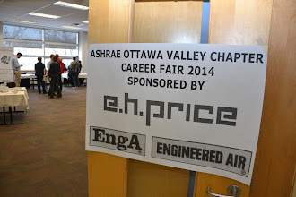 Photo: ASHRAE Ottawa Valley Chapter Career Fair 2014