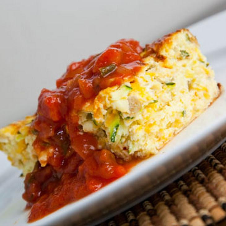 Zucchini and Green Chile Egg Breakfast Casserole Recipe